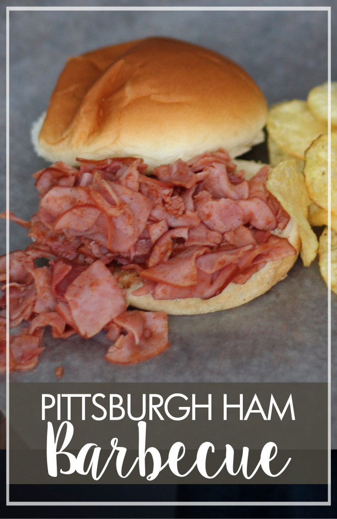 Pittsburgh Ham Barbecue Sandwiches
