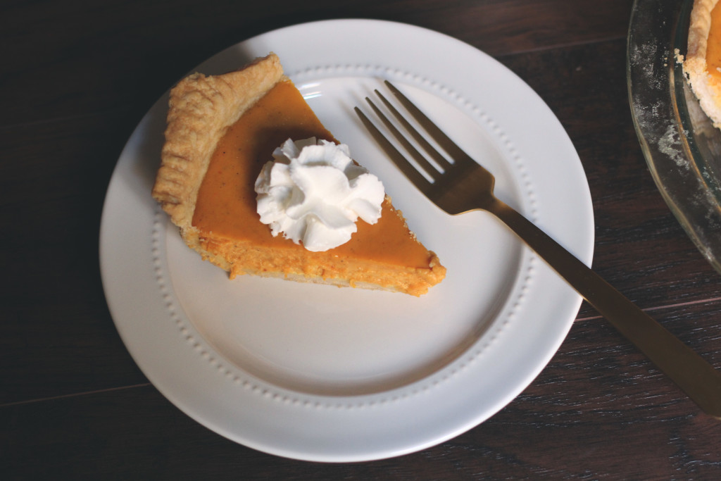 Pumpkin Pie Piece