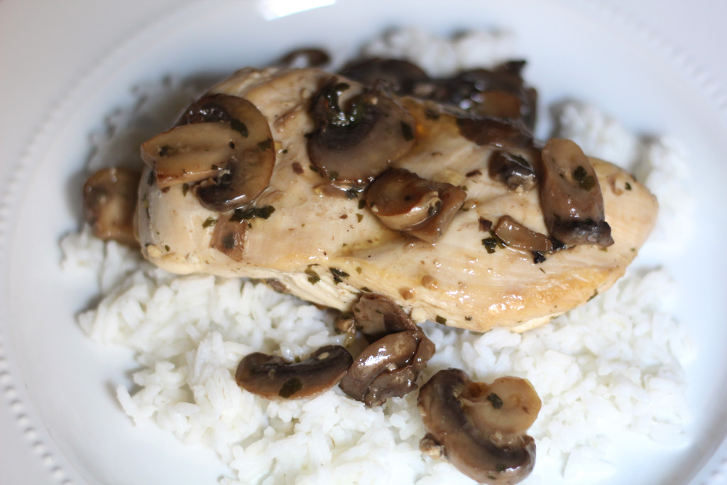Mushrooms Chicken